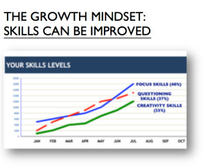 THE GROWTH MINDSET: SKILLS CAN BE IMPROVED