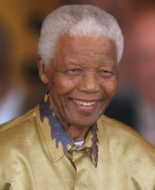 Nelson Mandela in 2008 - courtesy of Wikipedia.org