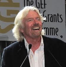 Sir Richard Branson - photo courtesy of Wikipedia.org