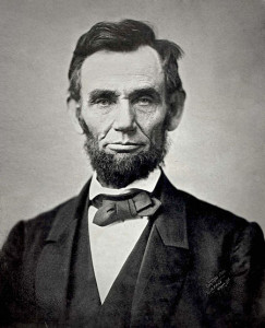 Abraham Lincoln - courtesy of Wikipedia.org