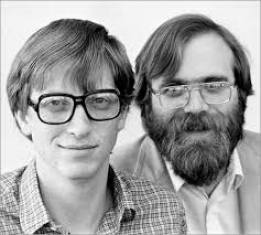 Bill Gates and Paul Allen - courtesy of Wired.com