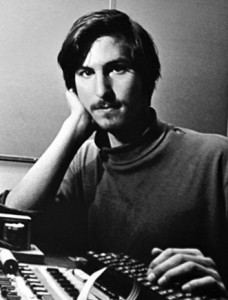 Steve Jobs, early years - courtesy of Bloomberg.com